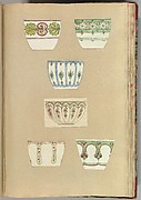 Six Designs for Decorated Cups