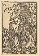 Christ Taking Leave of His Mother, from The Fall and Salvation of Mankind Through the Life and Passion of Christ
