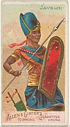 Javelin, from the Arms of All Nations series (N3) for Allen & Ginter Cigarettes Brands