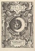 """Solis"" (from Four Plates from Ortelius, Deorum...)"
