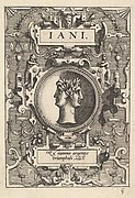 """Jani"" (from Four Plates from Ortelius, Deorum...)"