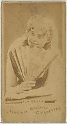 Ila Beals, from the Actors and Actresses series (N45, Type 1) for Virginia Brights Cigarettes