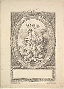 Reverse Copy of Allegory of Louis XVI on the Occasion of his Accession to the Throne of France in 1774