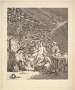 Vignette of the first volume, page 165: Usage des Russes après le Mariage et avant la Noce, from Voyage en Sibérie fait par ordre du Roi en 1761 [...], Paris, 1768 by Chappe d'Auteroche