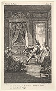 "Illustrations for Beaumarchais ""Marriage of Figaro"" (Act II)"
