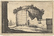 Roman Ruined Round Building