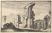 Ruins of Santa Croce in Gerusalemme