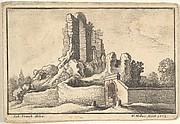 Garden Gate and Ruin