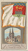 Bordeaux, from the City Flags series (N6) for Allen & Ginter Cigarettes Brands
