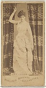 Amy Carew, from the Actors and Actresses series (N45, Type 1) for Virginia Brights Cigarettes