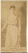 Miss Carson, from the Actors and Actresses series (N45, Type 1) for Virginia Brights Cigarettes