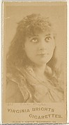 Card 467, Estelle Clayton, from the Actors and Actresses series (N45, Type 1) for Virginia Brights Cigarettes