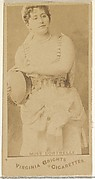 Miss Cortrelli, from the Actors and Actresses series (N45, Type 1) for Virginia Brights Cigarettes