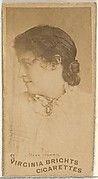 Miss Haven, from the Actors and Actresses series (N45, Type 1) for Virginia Brights Cigarettes