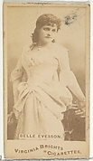 Belle Evesson, from the Actors and Actresses series (N45, Type 1) for Virginia Brights Cigarettes