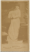 Edith Kingdon, from the Actors and Actresses series (N45, Type 1) for Virginia Brights Cigarettes