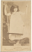 Hattie Stark, from the Actors and Actresses series (N45, Type 1) for Virginia Brights Cigarettes