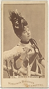 Fr&#228;ulein Zimmermann, from the Actors and Actresses series (N45, Type 1) for Virginia Brights Cigarettes