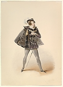"""Costume Study for Belmonte in the """"Abduction from the Seraglio"""" by W.A. Mozart"""