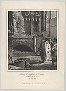The Tomb of Raphael, Opened September 14, 1833, Pantheon, Rome
