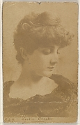 Card 529, Leslie Chester, from the Actors and Actresses series (N45, Type 1) for Virginia Brights Cigarettes