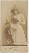 Clara Thropp, from the Actors and Actresses series (N45, Type 1) for Virginia Brights Cigarettes