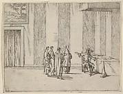 Francesco I d'Este Takes Particular Care to Ensure that Justice is Observed, from L'Idea di un Principe ed Eroe Cristiano in Francesco I d'Este, di Modena e Reggio Duca VIII [...]