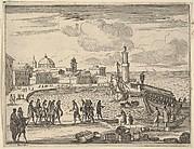 Francesco I d'Este Combines Forces with The Republic of Venice and Genoa Against the Ottoman Turks, from L'Idea di un Principe ed Eroe Cristiano in Francesco I d'Este, di Modena e Reggio Duca VIII [...]