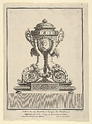 Design for a Clock, Title Page to 'Cahier de six Pendules'