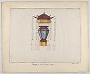 Design for a Hall Lamp