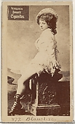 Card 877, Blauclerc, from the Actors and Actresses series (N45, Type 2) for Virginia Brights Cigarettes