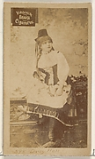Card 598, Daisy Hall, from the Actors and Actresses series (N45, Type 2) for Virginia Brights Cigarettes