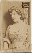 Card 924, Miss Williamson, from the Actors and Actresses series (N45, Type 2) for Virginia Brights Cigarettes