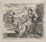 Juno, from 'Game of Mythology' (Jeu de la Mythologie)