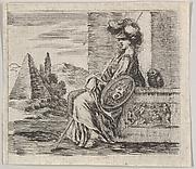 Pallas, from 'Game of Mythology' (Jeu de la Mythologie)