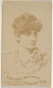Card 522, Leslie Chester, from the Actors and Actresses series (N45, Type 6) for Virginia Brights Cigarettes
