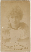 Card 517, Helen Terry, from the Actors and Actresses series (N45, Type 6) for Virginia Brights Cigarettes