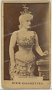 Lillian Russell, from the Actors and Actresses series (N45, Type 7) for Dixie Cigarettes
