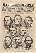 The Seceding South Carolina Delegation [Photographed by Brady] (from Harper's Weekly, Vol. IV)