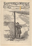 Lieutenant General Grant at his Headquarters [Photographed by Brady] (from Harper's Weekly)