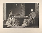 "Lieutenant General Thomas J. Jackson and His Family (""Stonewall Jackson"")"