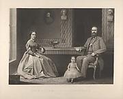 """Lieutenant General Thomas J. Jackson and His Family (""""Stonewall Jackson"""")"""