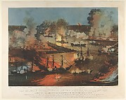 The Splendid Naval Triumph on the Mississippi, April 24th, 1862: Destruction of the Rebel Gunboats, Rams, and Iron Clad Batteries by the Union Fleet under Flag Officer Farragut