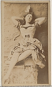 Belle Black, from the Actors and Actresses series (N45, Type 8) for Virginia Brights Cigarettes