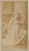 Isabelle Coe, from the Actors and Actresses series (N45, Type 8) for Virginia Brights Cigarettes