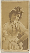 Sibyl Johnstone, from the Actors and Actresses series (N45, Type 8) for Virginia Brights Cigarettes