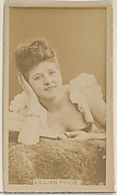 Lillian Price, from the Actors and Actresses series (N45, Type 8) for Virginia Brights Cigarettes