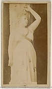 Lillian Russell, from the Actors and Actresses series (N45, Type 8) for Virginia Brights Cigarettes