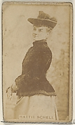 Hattie Schell, from the Actors and Actresses series (N45, Type 8) for Virginia Brights Cigarettes