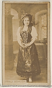 Frau Sohush, from the Actors and Actresses series (N45, Type 8) for Virginia Brights Cigarettes